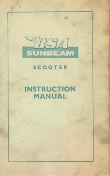 BSASunbeamScooterInstrMan [website]