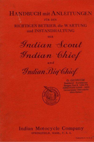 HandbuchIndianScoutChief [website]