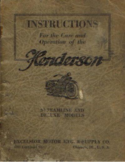 HendersonInstructionsStreamlineDelUxeModels [website]