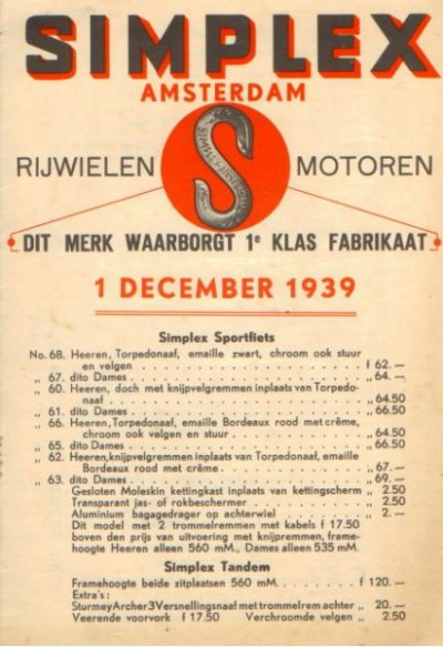 SimplexDecember1939 [website]