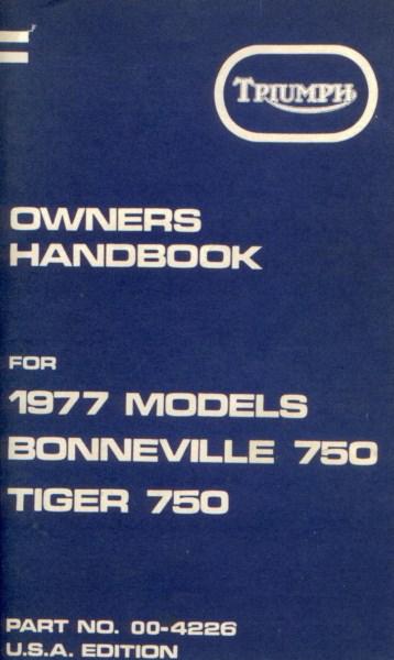 TriumphOwnersHandbook1977Models [website]