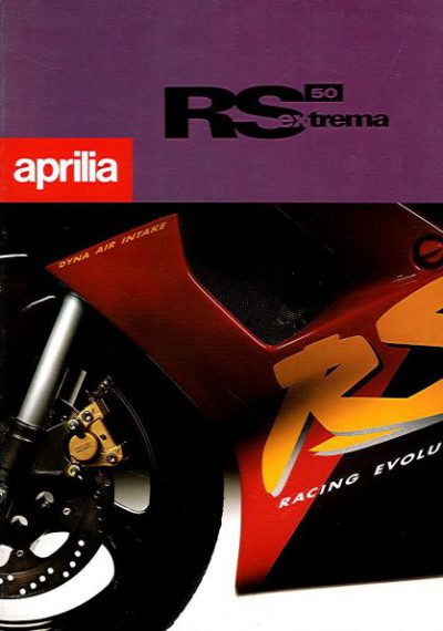 ApriliaRS50ExtremaBrochure