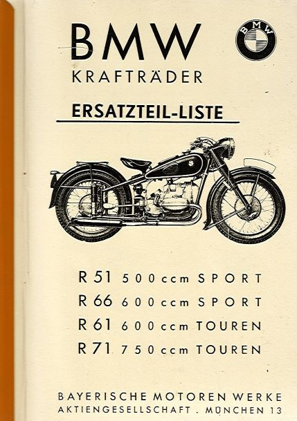 BMWKraftraederErsatzteilListeR51R66R61R71Kopie
