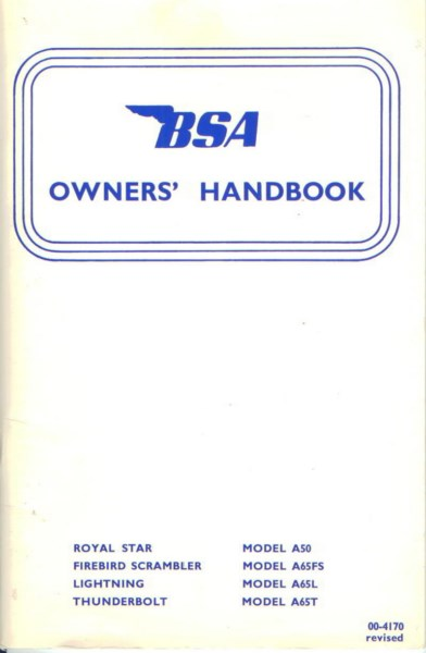 BSAOwnersHandbookModelA50-1970 [website]