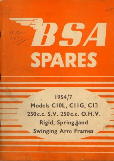 BSASpares1954 [website]