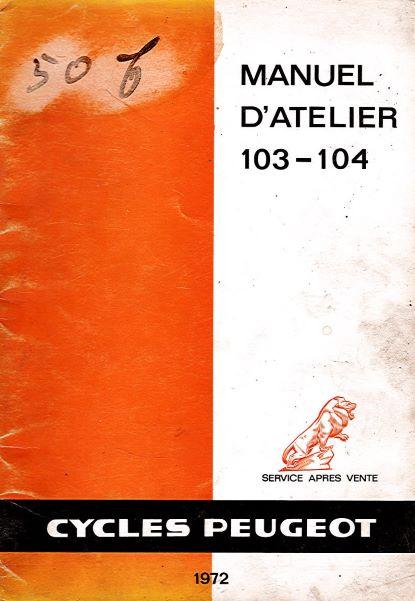 CyclesPeugeotManuelAtelier103-104
