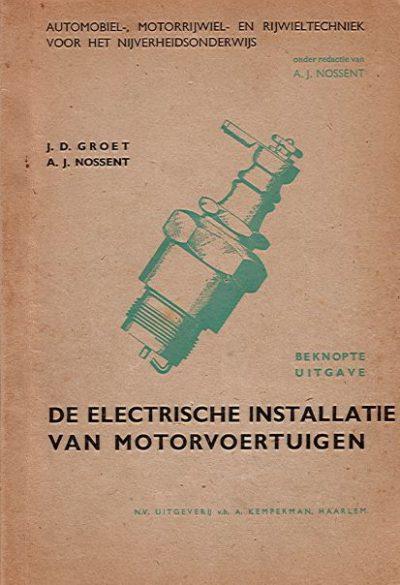 ElectrischeInstallatieMotorvoertuigen