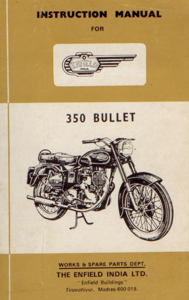 Enfield350BulletInstrMan [website]