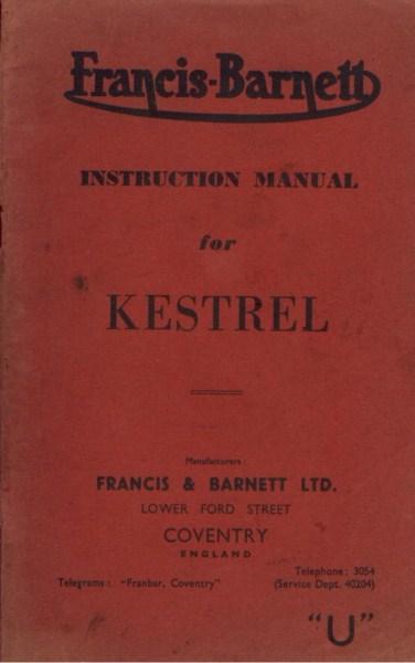 FrancisBarnettKestrel [website]