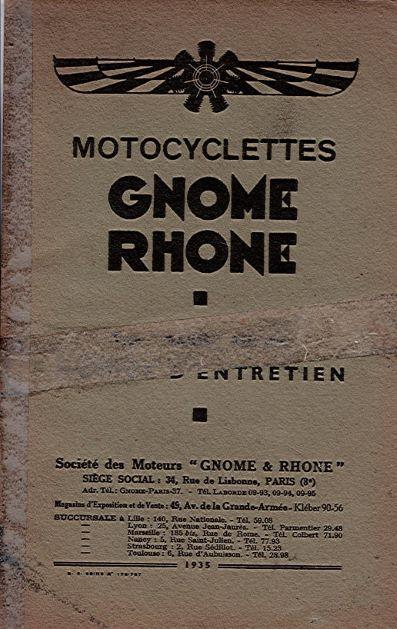 GnomeRhoneMotocyclesttes1935