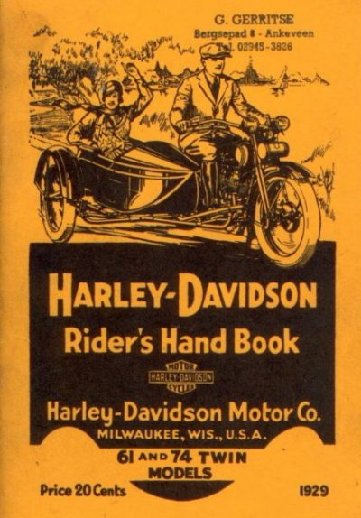 Harley-DavidsonRidersHandbook61-74TwinRepl [website]