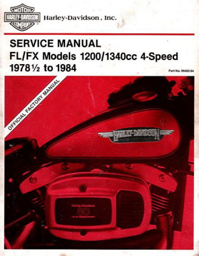 Harley-DavidsonServiceManualFL-FX1978-1984