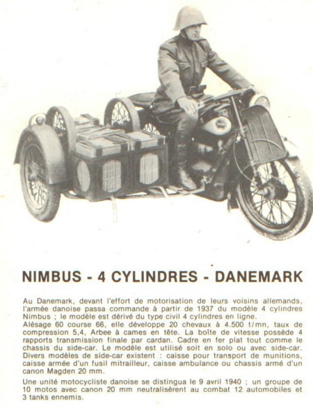 histoire de la moto militaire vintage motor cyclebooks. Black Bedroom Furniture Sets. Home Design Ideas