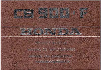 HondaCB900FOwnersMan