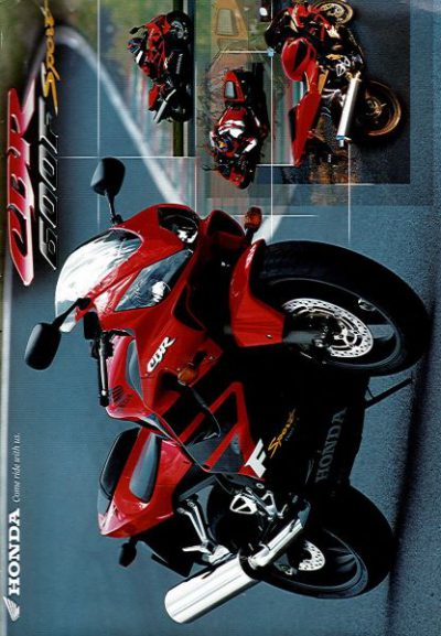 HondaCBR600SportBrochure