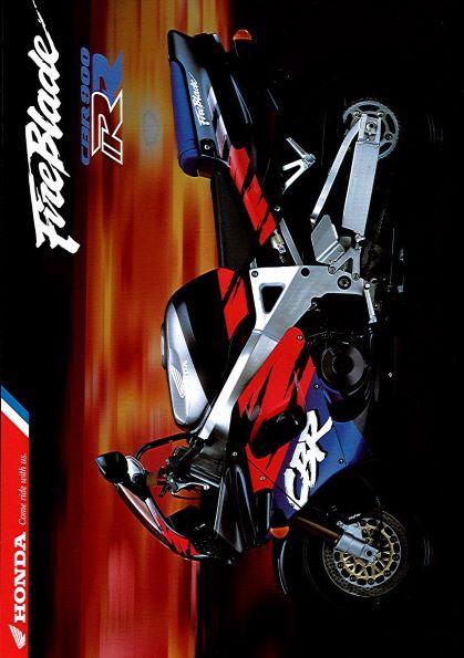 HondaFirebladeCBR900RRBrochure