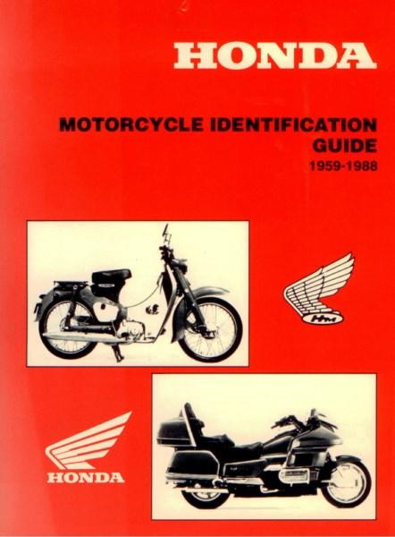 HondaMotorcycleIdentificationGuide1959 [website]