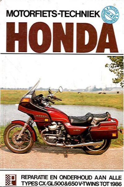 HondaMotorfietsTechniekPetersCX-GL