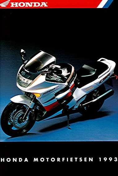 HondaMotorfietsen1993