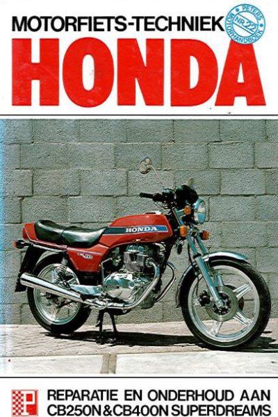 HondaMotorfietstechniekCB250NPeters