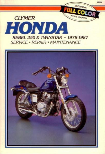 HondaRebel250TwinstarClymer [website]