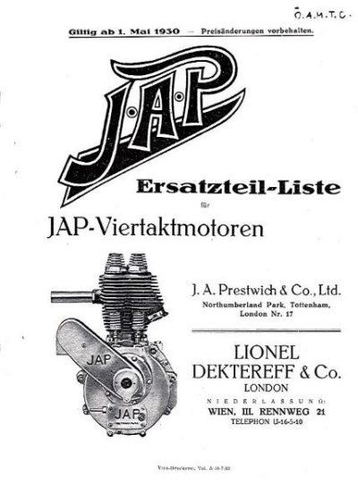 JAPErsatzteilListeViertaktmotorenKopie