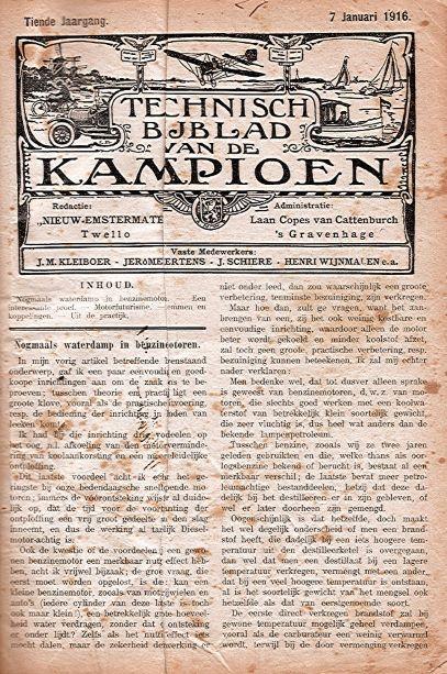 KampioenTijdschrift1916