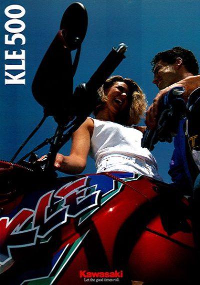 KawasakiKLE500brochure