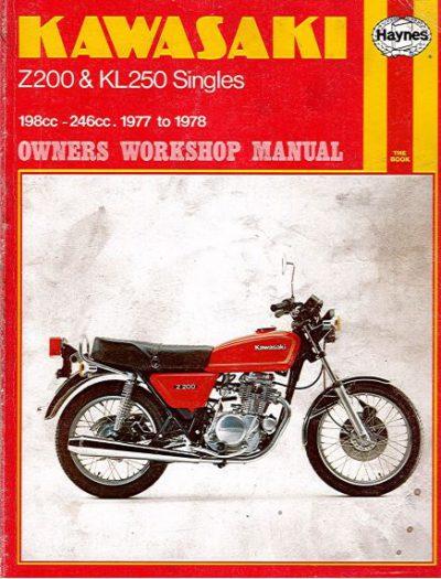 KawasakiZ200KL250SinglesHaynes