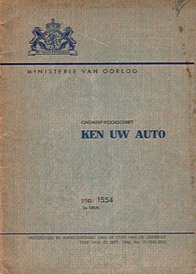 KenUwAutoMinisterieOorlog