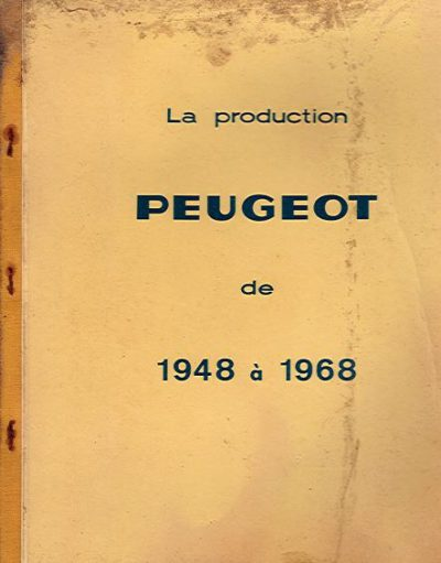 LaProductionPeugeot1948a1968