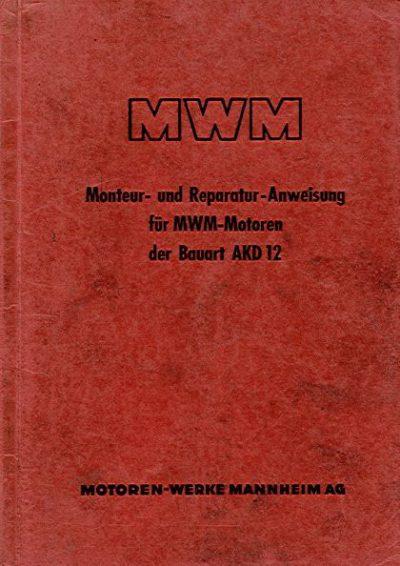 MWMMonteurReparaturAnweisAKD12