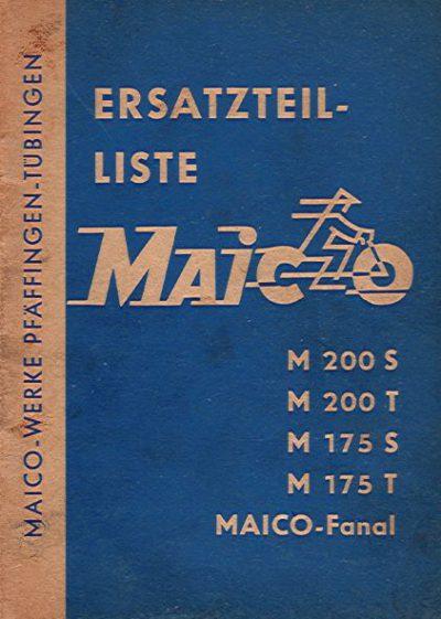 MaicoErsatzteilelisteM200S-MaicoFanal