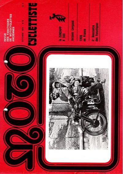 MotoCyclettisteNo.10