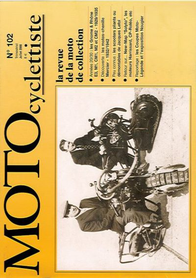 MotoCyclettisteNo.102
