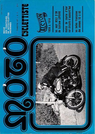 MotoCyclettisteNo.11