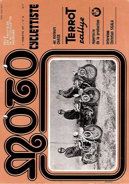 MotoCyclettisteNo.12