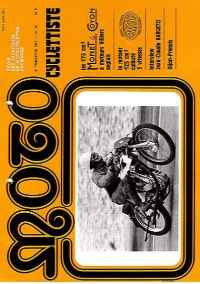 MotoCyclettisteNo.13