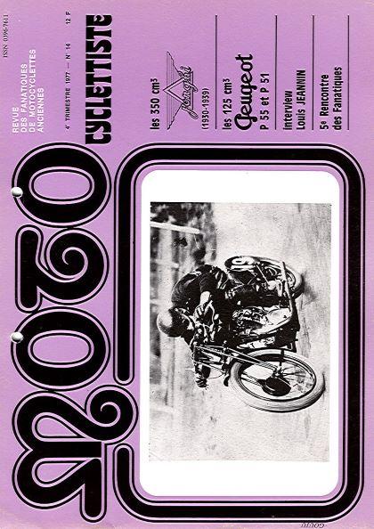 MotoCyclettisteNo.14