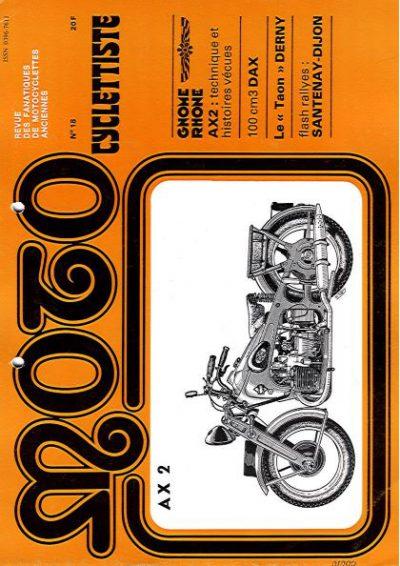 MotoCyclettisteNo.18