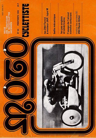 MotoCyclettisteNo.24