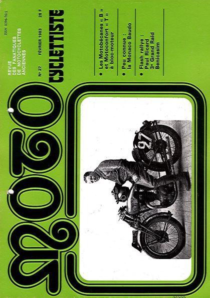 MotoCyclettisteNo.27