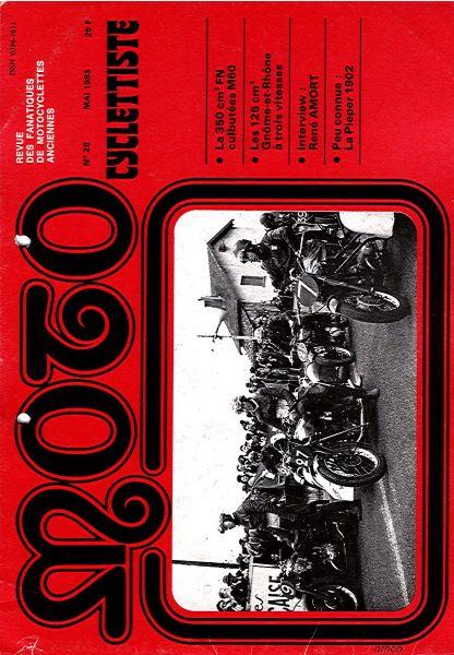MotoCyclettisteNo.28