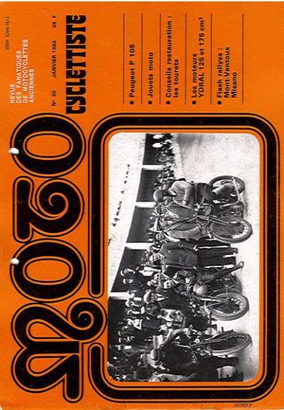 MotoCyclettisteNo.30