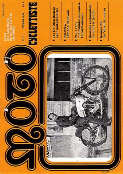 MotoCyclettisteNo.31
