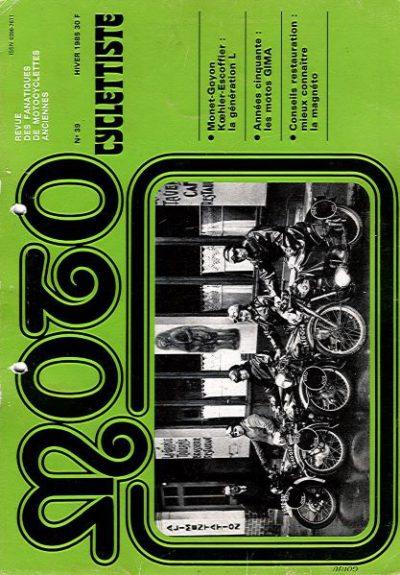 MotoCyclettisteNo.39