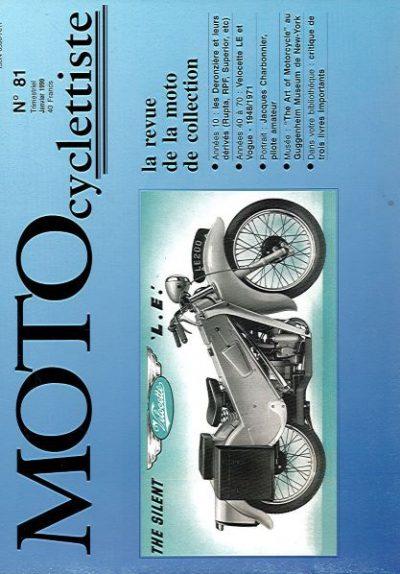 MotoCyclettisteNo.81
