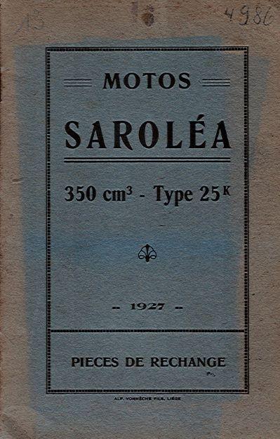 MotoSarolea350ccPiecesExchange1927