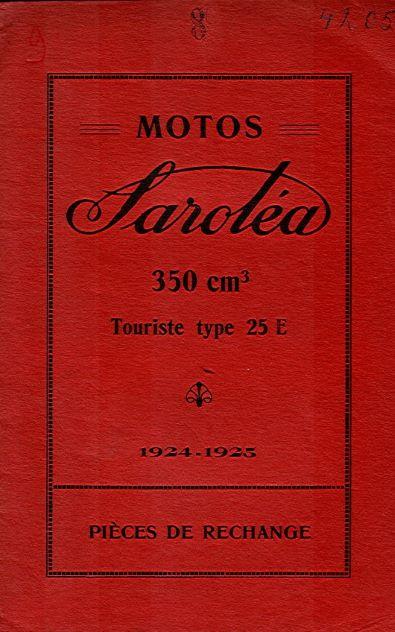 MotoSaroleaPiecesRechange1924-1925