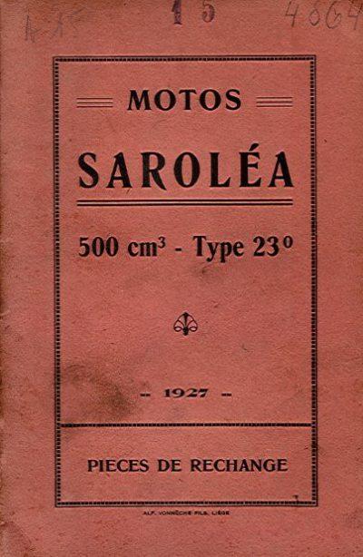 MotoSaroleaPiecesRechange1927